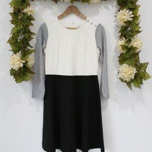 LOFT - Color Block Dress